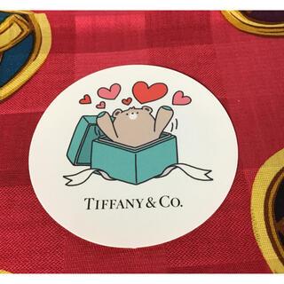 ティファニー(Tiffany & Co.)の非売品 ティファニーステッカークマちゃん(ノベルティグッズ)