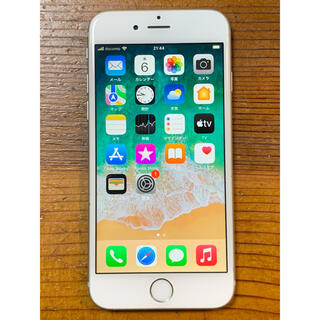 アップル(Apple)のiPhone 6s 64GB silver SIMフリー(スマートフォン本体)