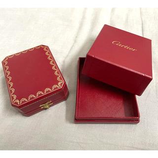 カルティエ(Cartier)のカルティエ Cartier 空箱 結婚指輪 ウエディングリング(ショップ袋)