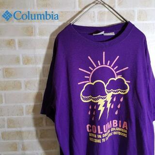 コロンビア(Columbia)のColumbia コロンビア ビッグロゴ Tシャツ 男女兼用 ユニセックス(Tシャツ/カットソー(半袖/袖なし))