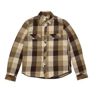 ナンバーナイン(NUMBER (N)INE)の39/39)ナンバーナイン 02AW ジョージ期 ブロックチェックシャツ 2(シャツ)