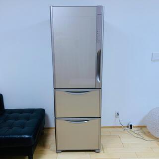 日立 - ☆大幅値下げ!☆ HITACHI冷凍冷蔵庫 真空チルド 365L 左開き 3ドア