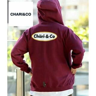 CHARI&CO チャリアンドコー  ICE CREAM LOGO ZIP(パーカー)