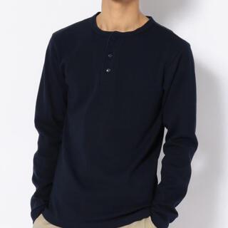 アヴィレックス(AVIREX)の新品アヴィレックスX Lサイズヘンリーネックロンティー!(Tシャツ/カットソー(七分/長袖))