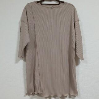 しまむら - terawear emu てら メロウ Tシャツ トップス 五分袖 MUMU