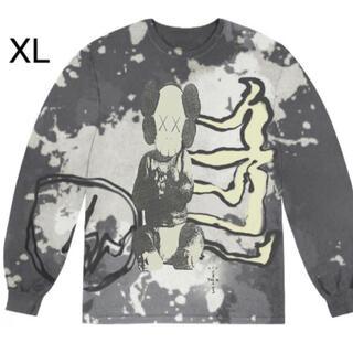 カクタス(CACTUS)のCACTUS JACK + KAWS FOR FRAGMENT L/S TEE(Tシャツ/カットソー(七分/長袖))