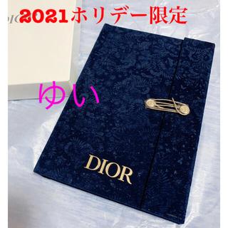 ディオール(Dior)のディオールノベルティディオール手帳ノート新品未使用2021ホリデークリスマス限定(その他)