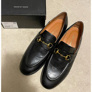 アダムエロぺ(Adam et Rope')のB品訳あり未使用品アダムエロペボロネーゼビットローファーブラック38(24.0)(ローファー/革靴)