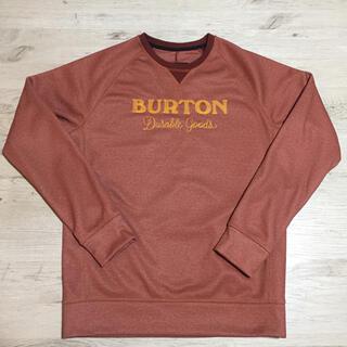 BURTON - BURTON バートン スノボ 撥水 スウェット トレーナー 防水