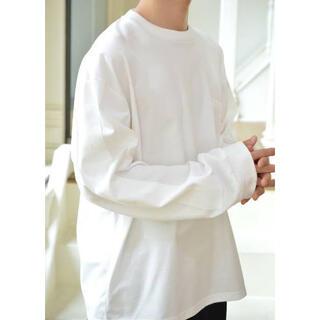 COMOLI - stein シュタイン オーバーサイズ ロングスリーブ ポケットTシャツ ロンT