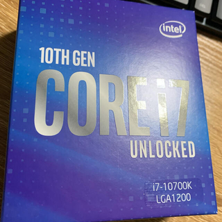 Intel Core™ i7-10700K(PCパーツ)