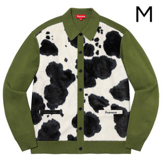 Supreme - Supreme Cow Print Cardigan カーディガン Mサイズ
