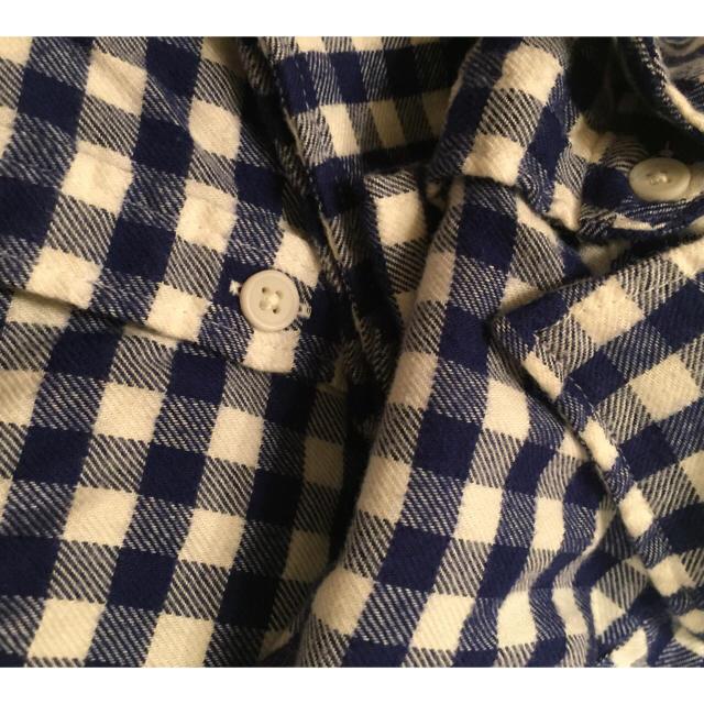 MUJI (無印良品)(ムジルシリョウヒン)の無印オーガニックコットンフランネルチェックシャツ  レディースのトップス(シャツ/ブラウス(長袖/七分))の商品写真