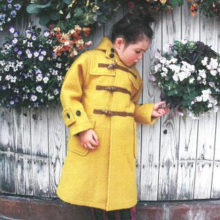 ゴートゥーハリウッド(GO TO HOLLYWOOD)の新品タグ付きゴートゥーハリウッドナッピングウールコート140(コート)