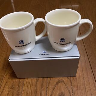 フォルクスワーゲン(Volkswagen)のフォルクスワーゲン ペアカップ(ノベルティグッズ)