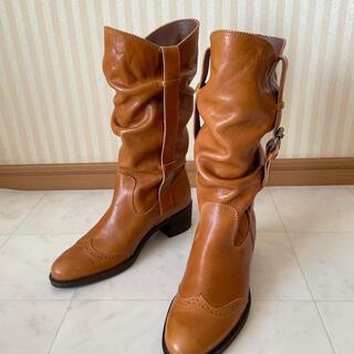 BARCLAY - バークレー  ブーツ キャメル  22.5cm