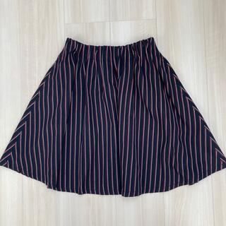 ローリーズファーム(LOWRYS FARM)のローリーズファーム ストライプスカート(ひざ丈スカート)