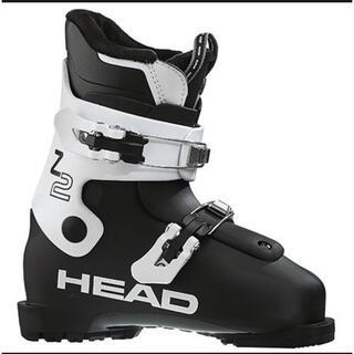 HEAD - 新品 HEAD ヘッド ジュニア スキーブーツ 22.5cm Z2 黒×白