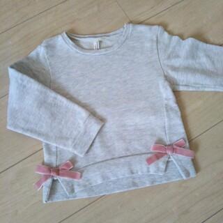 サマンサモスモス(SM2)のリボントレーナー110(Tシャツ/カットソー)