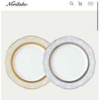 Noritake - 【新品・未使用】ノリタケ ペアプレート