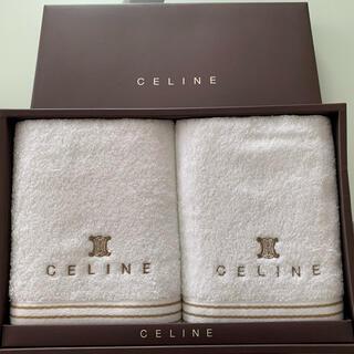 セリーヌ(celine)の⭐️新品未使用⭐️セリーヌ ⭐️フェイスタオル 2枚⭐️(タオル/バス用品)