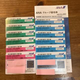 エーエヌエー(ゼンニッポンクウユ)(ANA(全日本空輸))のANA株主優待券 12枚 冊子付き(その他)