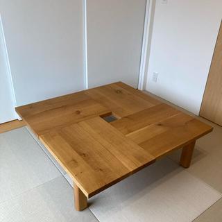 MUJI (無印良品) - ⭐︎美品⭐︎飛騨産業 キツツキ 森のことば 正方形フロアテーブル 定価約20万円