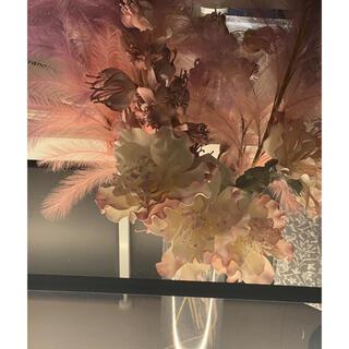 ザラホーム(ZARA HOME)の造花 1mまとめて! ピンクホワイトベースです(置物)