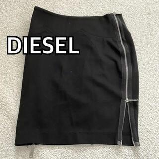 ディーゼル(DIESEL)のタイトスカート ディーゼル サイドジップアップスカート(ミニスカート)