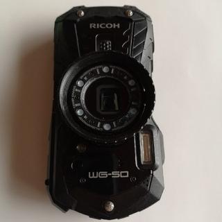 RICOH - 【美品】RICOH アウトドア防水カメラ WG50