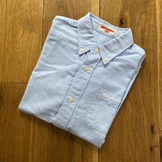 ミキハウス(mikihouse)のミキハウス コットン ボタンダウンシャツ110(ブラウス)