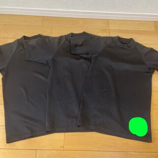 アシックス(asics)の140サイズ 半袖アンダーシャツ 黒(ウェア)