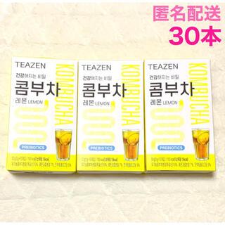 最安値 TEAZEN ティーゼン コンブチャ レモン 30本 ジョングク BTS(ダイエット食品)