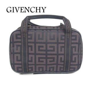 GIVENCHY - ジバンシィ 4Gロゴ 総柄 化粧 コスメ ポーチ ミニ ハンド バッグ