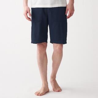 ムジルシリョウヒン(MUJI (無印良品))のシアサッカーショートパンツ 無印良品 Mサイズ(ショートパンツ)