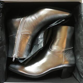 セリーヌ(celine)のCELINE JACNO ジャクノ シルバー ブーツ EU39(ブーツ)