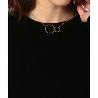 ニジュウサンク(23区)の475新品23区WCircle Necklace ネックレス¥20900(ネックレス)