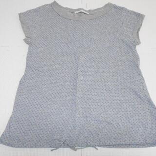 ローリーズファーム(LOWRYS FARM)の衣類 レディース Mサイズ 半袖Tシャツ ドット柄 グレー(Tシャツ(半袖/袖なし))