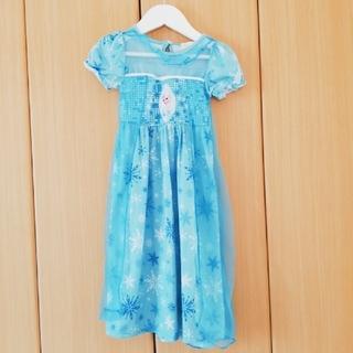 エルサ アナと雪の女王 ワンピースドレス 100 (衣装)
