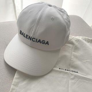 バレンシアガ(Balenciaga)のBALENCIAGA バレンシアガ キャップ 白 正規品(キャップ)