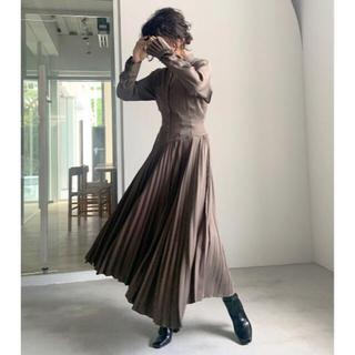 アメリヴィンテージ(Ameri VINTAGE)のAmeri 新品未使用 SHAPELY CORSET DRESS(ロングドレス)