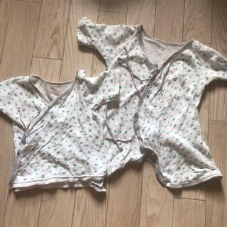 ミキハウス(mikihouse)の新生児 肌着セット(肌着/下着)