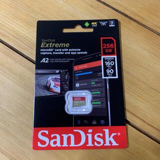 SanDisk - 【新品】SanDisk Extreme 256GB microSD サンディスク