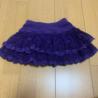 アナスイミニ(ANNA SUI mini)のANNA SUI mimi  レーススカパン(スカート)