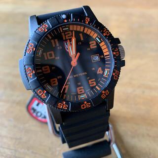 ルミノックス(Luminox)の新品✨ルミノックス LUMINOX 腕時計 メンズ 0329 クォーツ オレンジ(腕時計(アナログ))