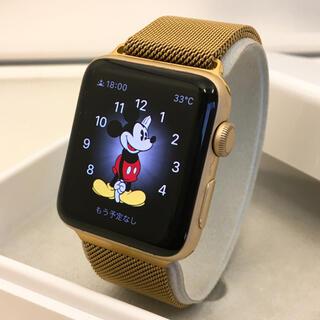 アップルウォッチ(Apple Watch)のApple Watch ゴールド レアカラー アップルウォッチ シリーズ2(腕時計)