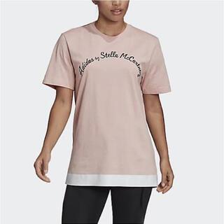 アディダスバイステラマッカートニー(adidas by Stella McCartney)のadidas ステラ ヨガ ピラティス ジムウェア Tシャツ L(Tシャツ(半袖/袖なし))