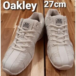 オークリー(Oakley)のオークリー Oakley スニーカー ホワイト 27cm(スニーカー)
