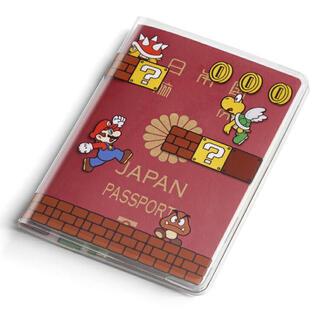 ニンテンドウ(任天堂)の【新品】パスポートカバー スーパーマリオ(旅行用品)