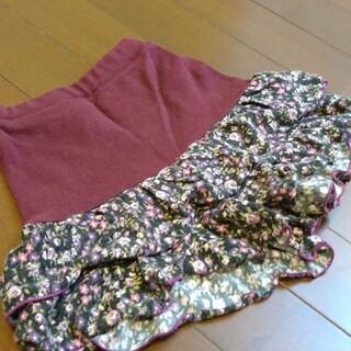 アナスイミニ(ANNA SUI mini)のアナスイミニ 花柄 キュロット 秋冬(スカート)